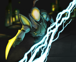 Weavel - Metroid Prime hunters by Quillustrate
