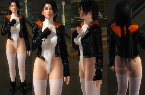 Momiji Jacket Leotard by funnybunny666