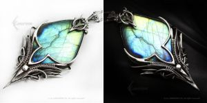 ESSERTIEL ARDAMARTH Silver and Labradorite by LUNARIEEN