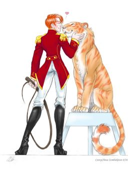Lion Tamer Hux and Millicent [Circus AU 1/2] by ConnyChiwa