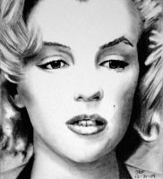 Marilyn Monroe by Doctor-Pencil