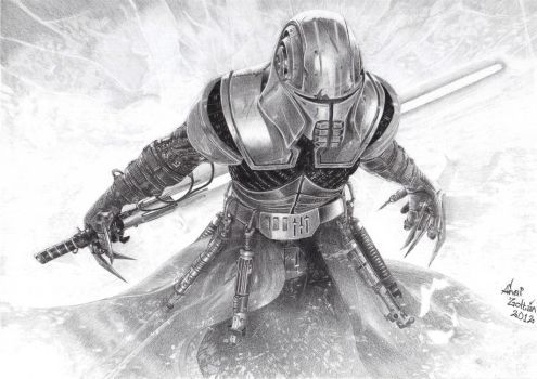 Star Wars the Force Unleashed by ZoltaArt