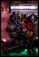 Snake Eyes and Scarlet Colored by Zero-Optix