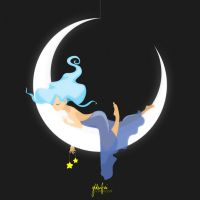 The Moon Was a Cradle by Ylden