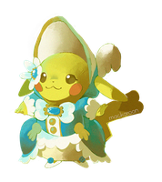 Mademoiselle Pikchu by cheepers
