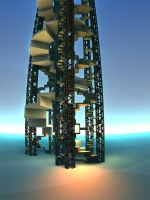 Helistairs Tower by Undead-Academy