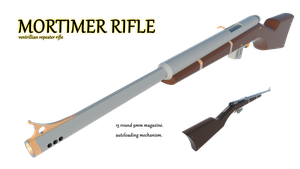 Mortimer Rifle by Gwentari