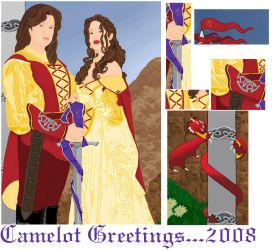 Camelot Greeting Details by RaNuit