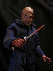 NECA Retro Roy 'Copycat Jason' Burns Unmasked by Police-Box-Traveler