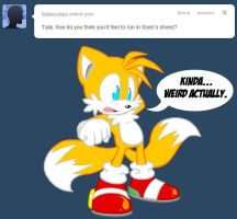 Sonic's Shoes -- Tumblr Ask by Amuzoreh