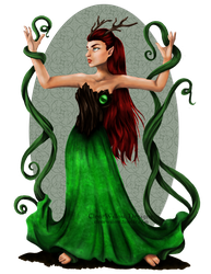 Earth Muse by ClearWillow