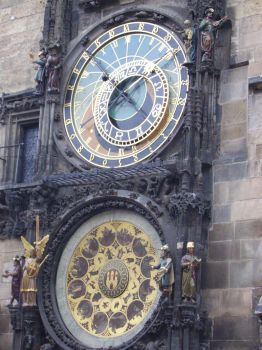 Astronomical Clock, Prague by spugmeister