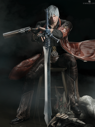 Dante by DemonLeon3D