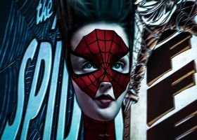 DOLL(s) . SPIDERGIRL by Vic4U