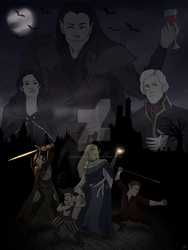 Curse of Strahd by Legndofphoenix