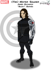 (The) Winter Soldier by Kyle-A-McDonald