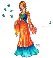 The Butterfly Weaver by delightedmuse