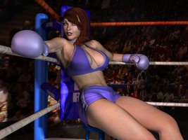 Tina 'The Italian Knockout' Corretti by cpunch