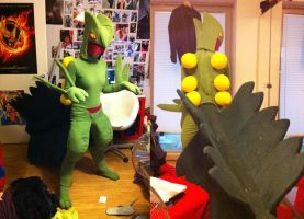 Sceptile Cosplay Costume by Blashina