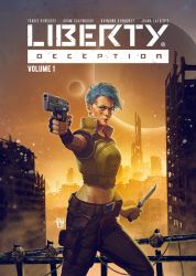 Liberty Deception cover by antoniodeluca