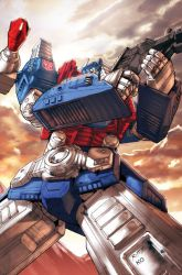 Ultra Magnus Spotlight cover by REX-203