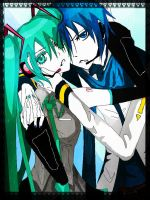 MikuandKaito2edit by TheCecile
