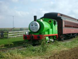 Tank Engine Percy Again by SteamLocoFan98