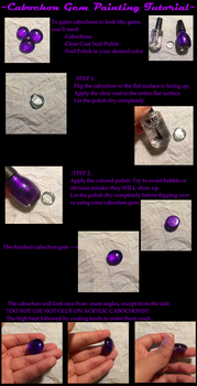 Tutorial: Painting Cabochon Gems by RexT-Rex
