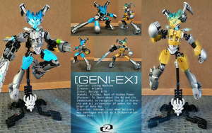 Geni-Ex, Last Creation of Artakha (MOC) by Llortor