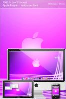 Apple Purple Wall Pack by Law-Concept