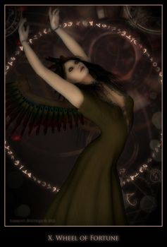 Wheel of Fortune by karibous-boutique