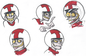 Turbo Faces by tobleronetanz