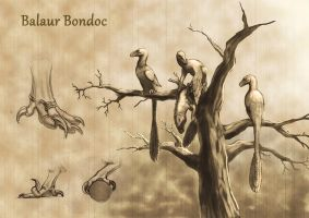 Balaur bondoc arboreal yesterdays by JELSIN