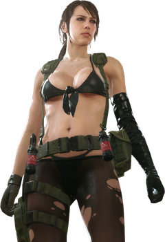 Metal Gear Solid V The Phantom Pain Quiet Render by The-Blacklisted