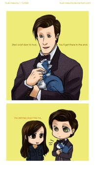 The Tardis is like a cat by Vivalski