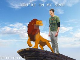 Sheldon Cooper - Lion King by minionist