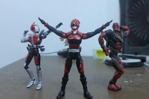 Unofficial Substitute Akibarangers by LordKurow