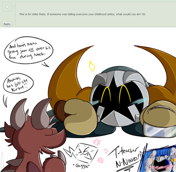Ask Meta Knight :No.1: by Rhylem