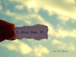 I Miss You by me6o