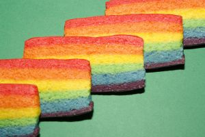 Rainbow Biscuits by behindthesofa