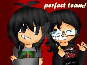 perfect team :P by enyelita