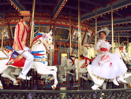 On the Carousel by DisneyLizzi