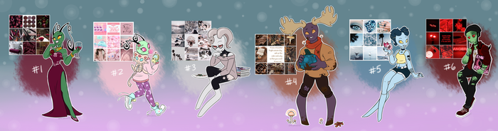 (CLOSED) IZ Moodboard Adopts Auction by SPAC3-NUGG3T