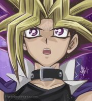 Yami Yugi ~ Digital Painting by MarieJaneWorks