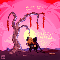 Leo - Time Tree (May) by Kitkabean
