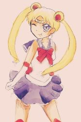 Sailor Moon Sketch by MadWulfie