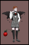 (CLOSED) Halloween Botanical with unique trait by Qu-Ross