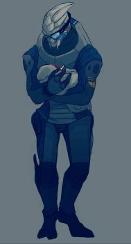 No Vakarian Without Shepard  by CrazySuperior