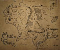 Middle Earth by LOTR3005