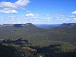Blue Mountains 01 by VampireSybelle-Stock